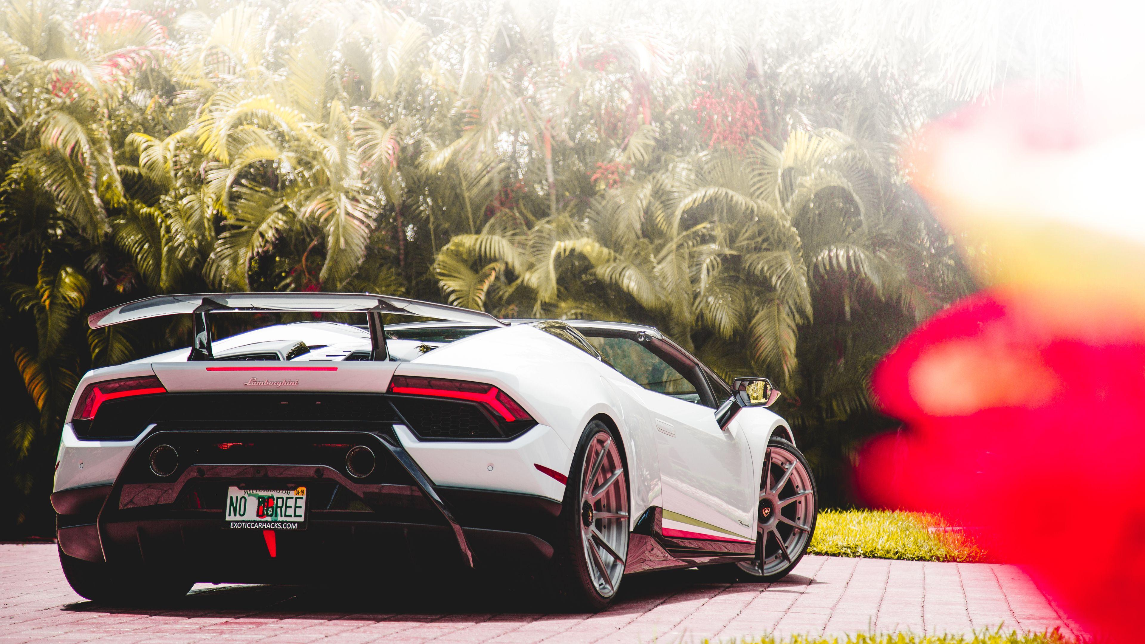 Lamborghini Huracan Performante Rear 4k Wallpaper 2018 Lamborghini Wallpapers Lamborghini Huracan Wallpapers Lamborghini Huracan Lamborghini Car Wallpapers