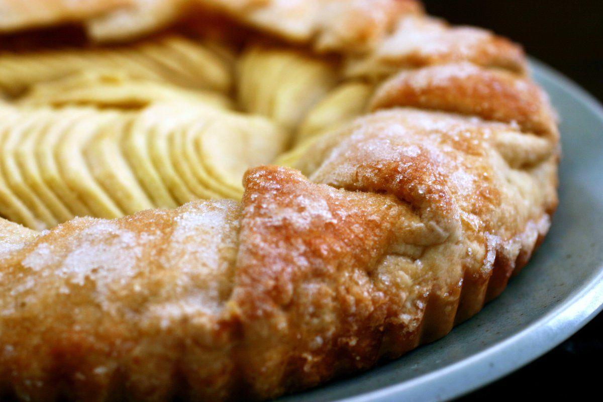 simplest apple tart – smitten kitchen | Sweet Treats | Pinterest
