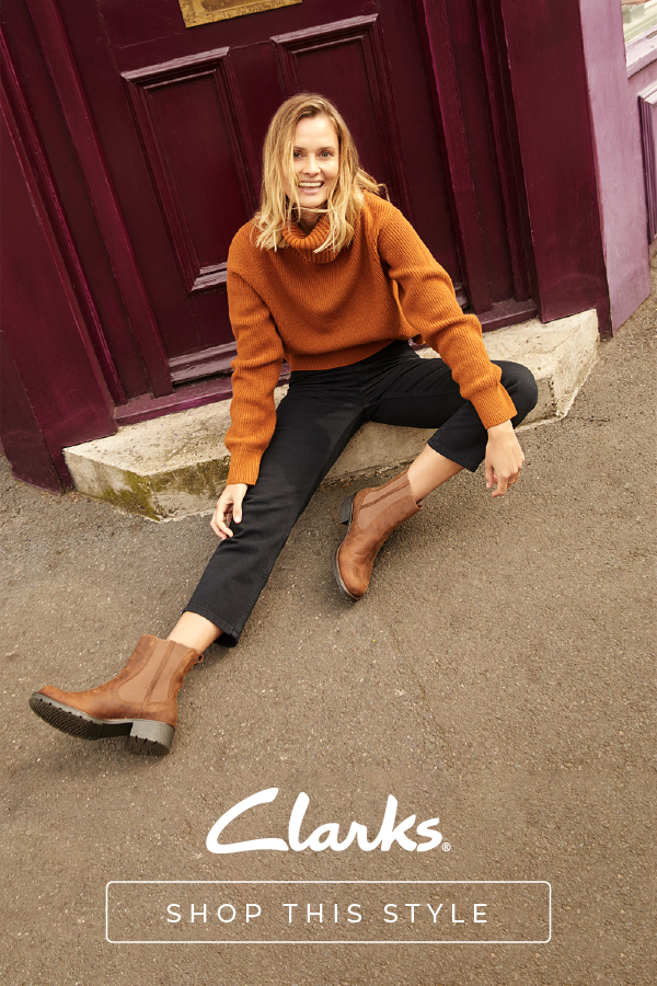 Ladies Clarks Chelsea Pull On Boots /'Orinoco Club/'