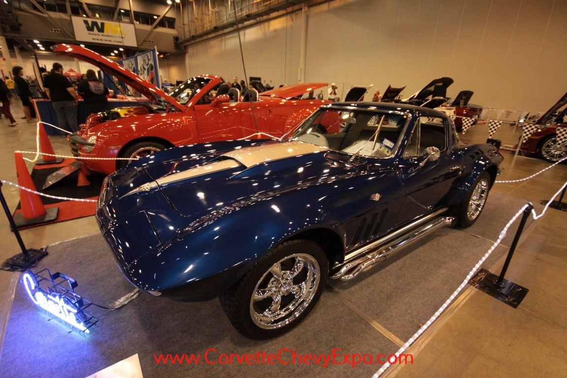 This is a 1965 Chevrolet Corvette owned by Timothy Achor