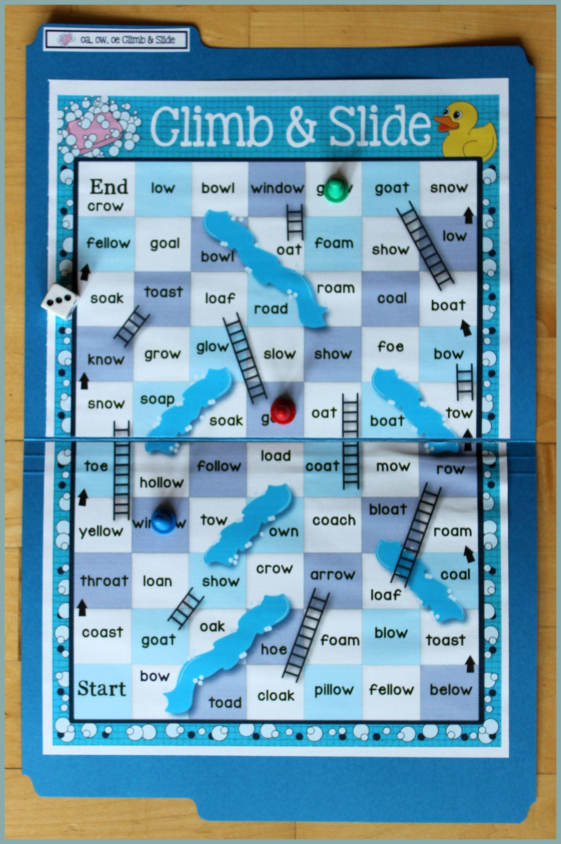 Oa Ow O Oe Alternative Spellings Reading Word Work Vocabulary
