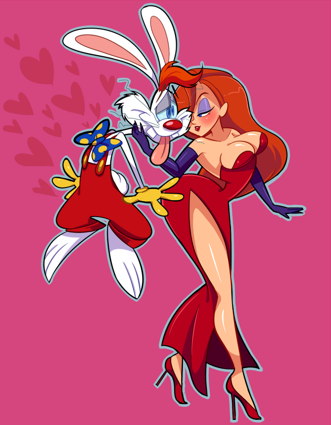 Art Of Sakiko Jessica Rabbit Cartoon Jessica And Roger Rabbit Jessica Rabbit