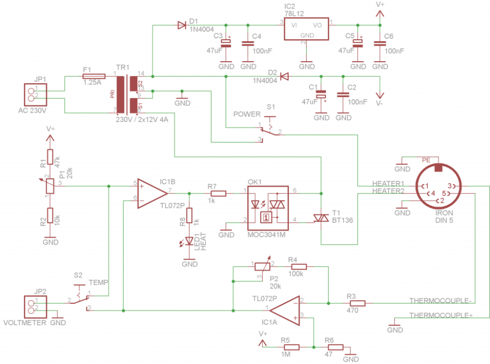Pin By Bryan On Electronica In 2020 Soldering Diagram Soldering Iron