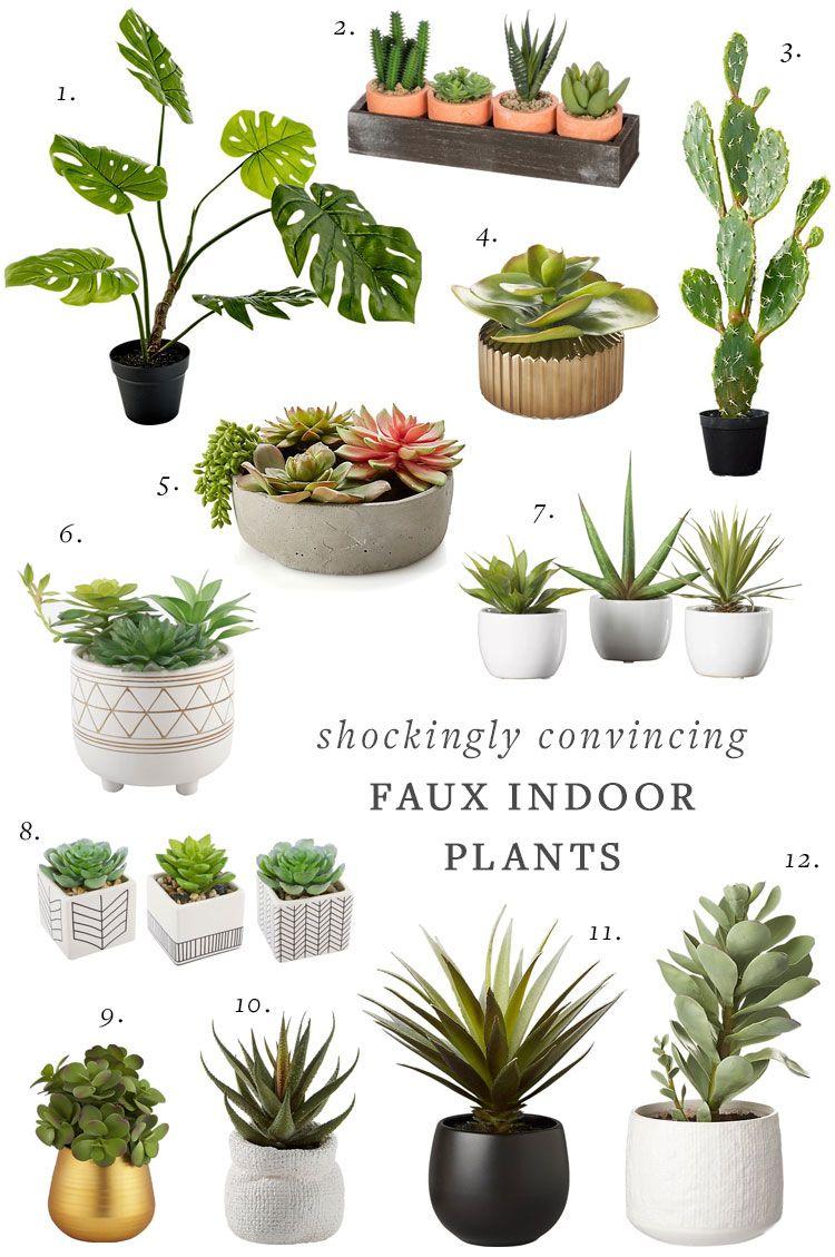 Shockingly Good and Convincing Faux Indoor Plants Indoor