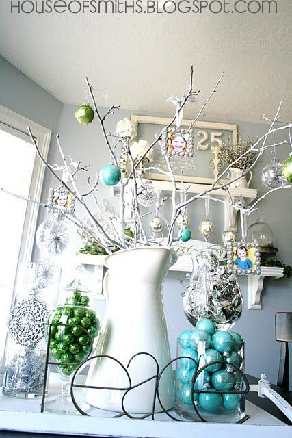Best Blue Green White And Silver Christmas Decorating Ideas 400 x 300