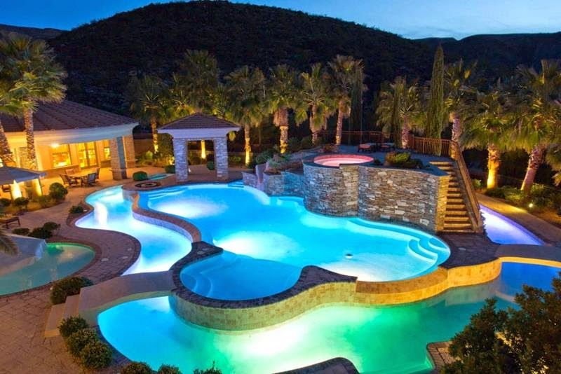 luxury homes in las vegas come with many amenities one of such is their unique - Luxury Homes With Pools