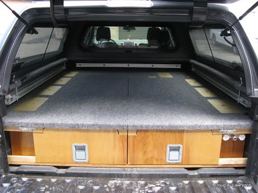 LATEST PROJECT - Truck Drawers/Sleeping Platform - Expedition Portal | Truck | Truck bed camping