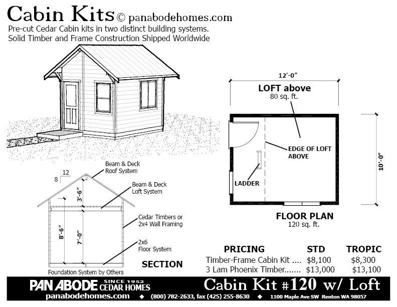 120 Sq Ft Small Home Plan Tiny House Plans Simple House Plans House Plans