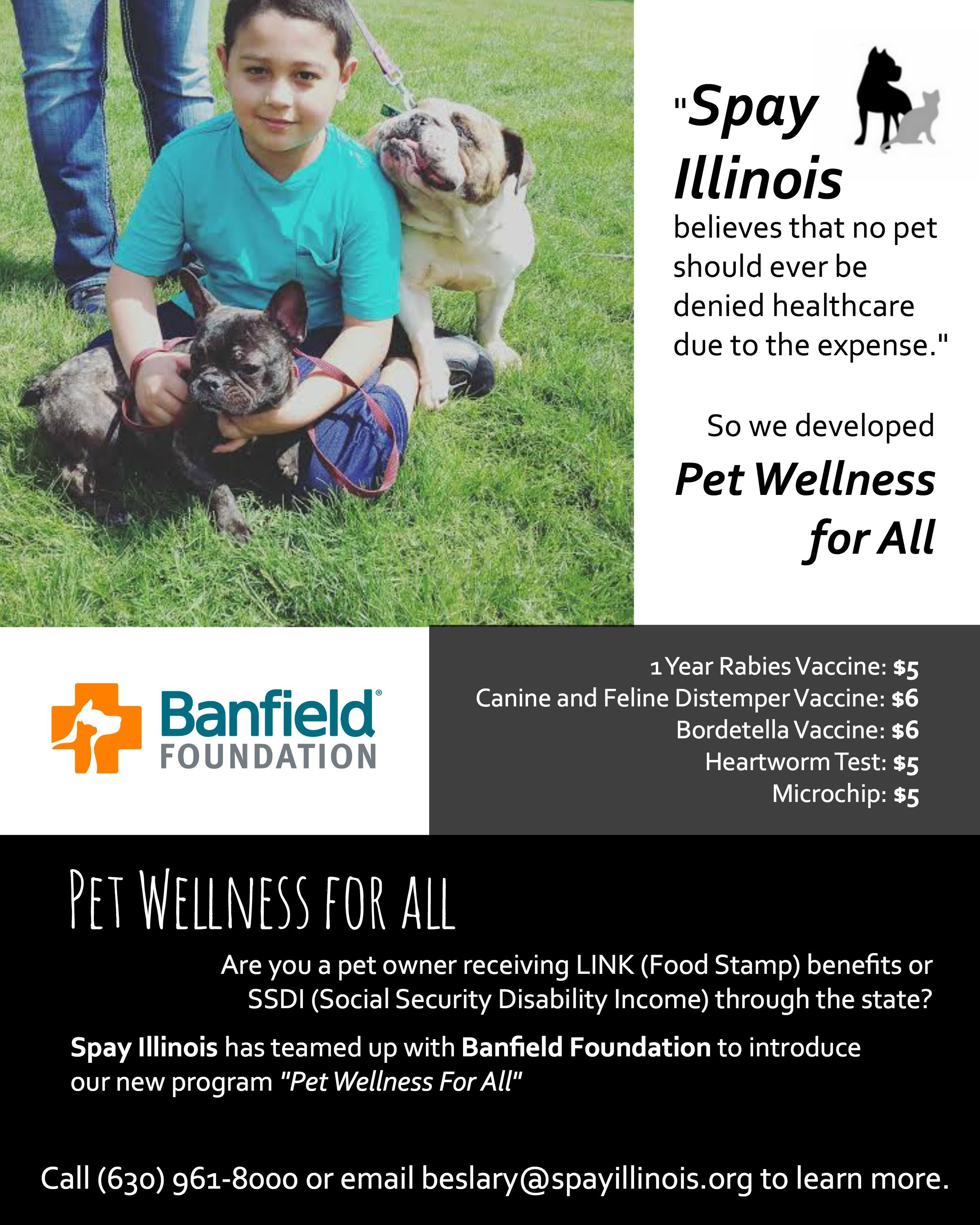 New Program For Low Income Pet Owners Pet Wellness