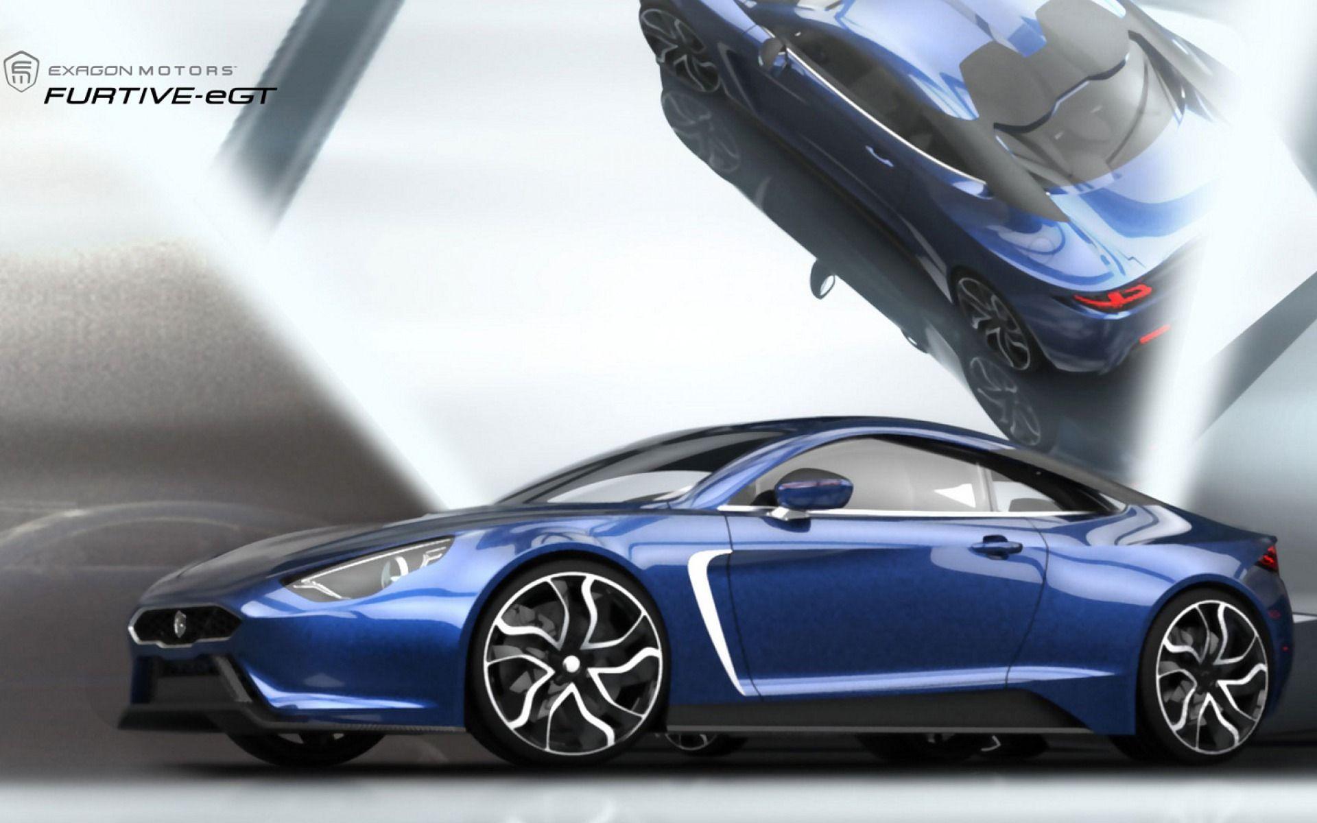 エクサゴンひそかE-GT 車 高解像度で壁紙