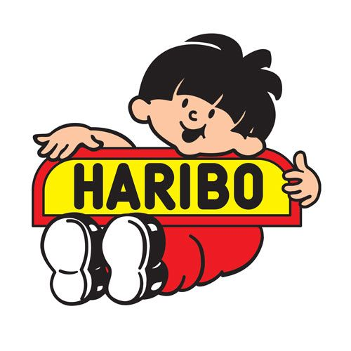Haribo logos marque de bonbon bonbon haribo et logos - Dessin de bonbons haribo ...