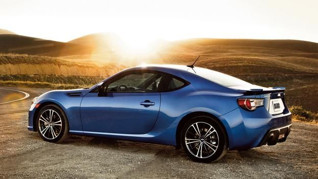 The rear-drive BRZ will leave you thrilled, but may be hard to find. (Subaru of America)