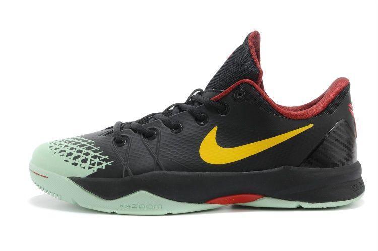 26f9ced2f295 Cheap Nike Zoom Kobe Venomenon 4 Glow in the Dark Black Lemon Chiffon Court  Purple 635578 003 2018 Spring Summer Sale