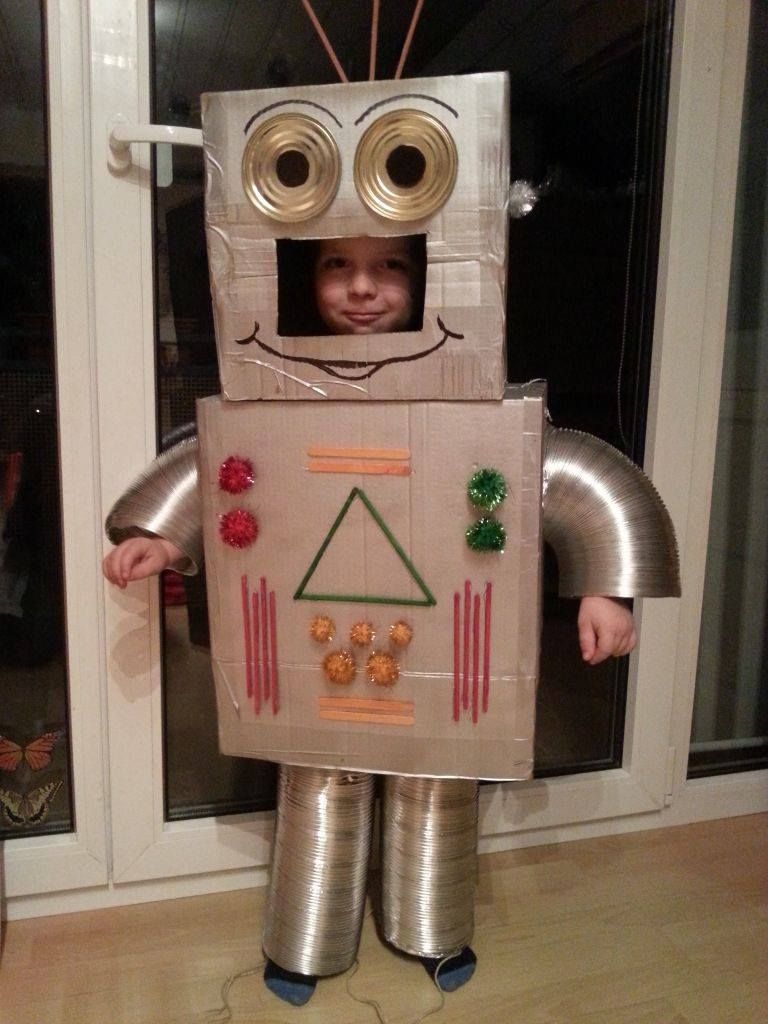 robot costume roboter kost m roboter pinterest halloween costumes. Black Bedroom Furniture Sets. Home Design Ideas