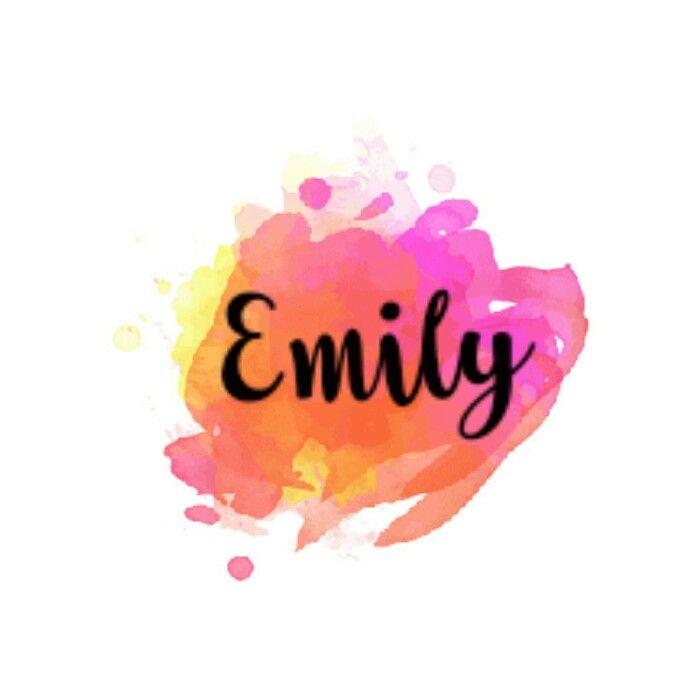Lol This My Fav I Like It Emily Name Name Wallpaper Tatto Name