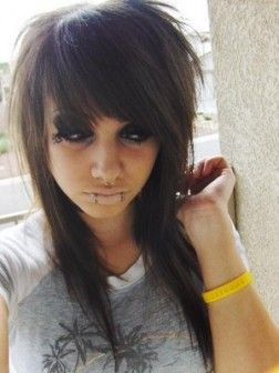 long funky hairstyles with bangs - Google Search