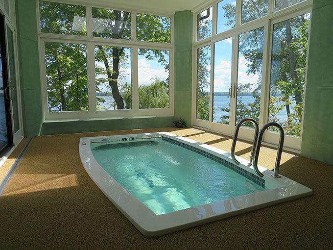 vs an Endless Pool and Competitors | swimex | Fiberglass ...