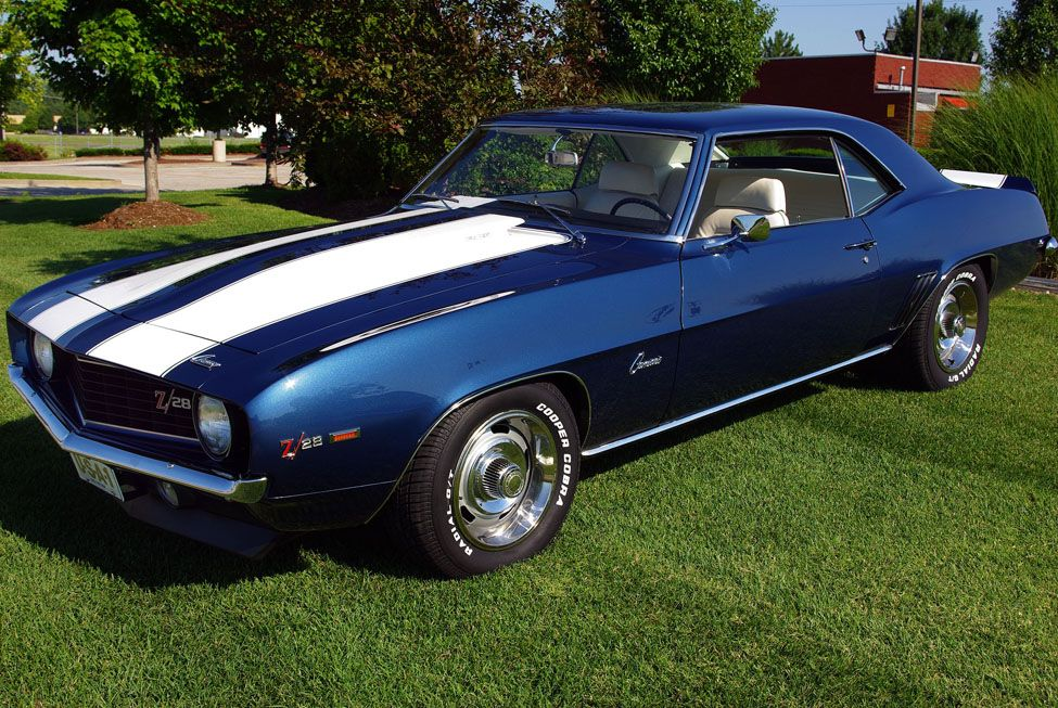 This was one of the first muscle cars out there, and even may have ...