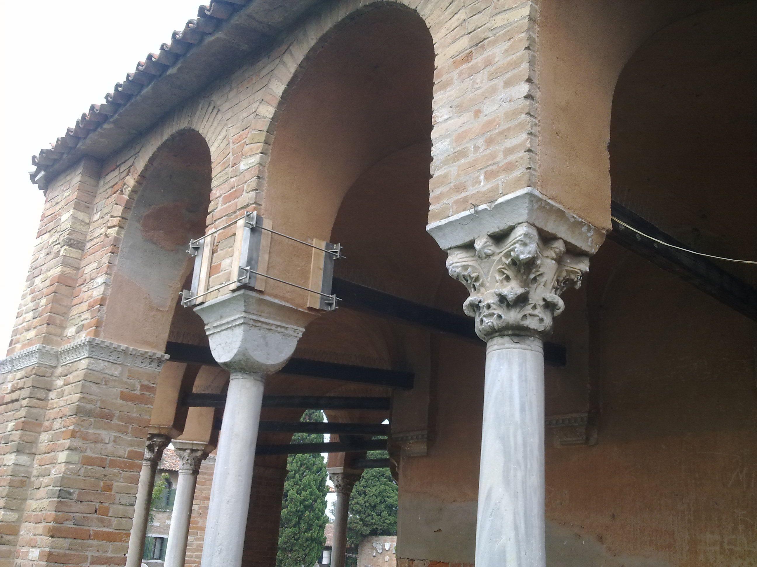 Santa Fosca, Torcello, Italy, capitals
