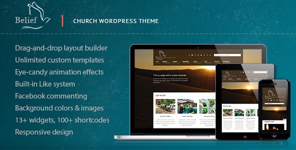 Belief - Church WordPress Theme | Carruseles