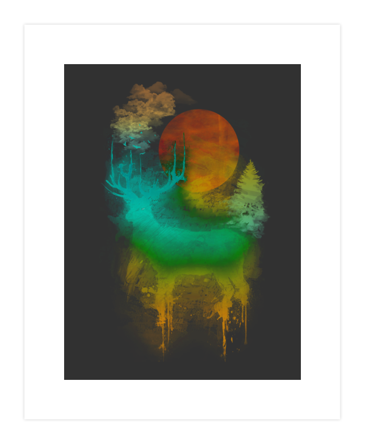 Nature Impression Art Print