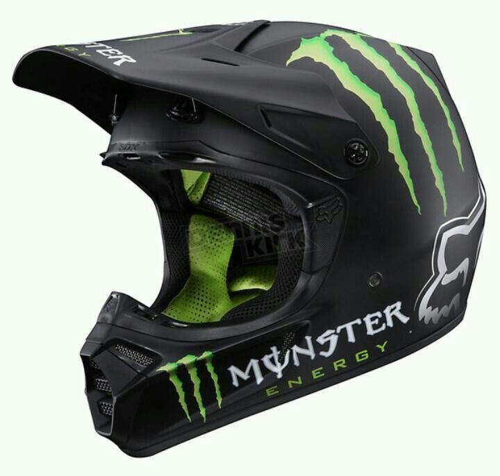 Monster Helmet Dirt Bike Gear Racing Gear Dirt Bike Helmets