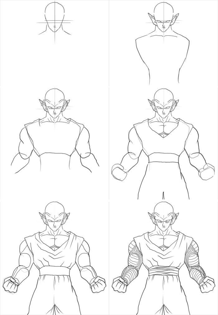 How To Draw Piccolo En 2019 Dessin De Dragon Dessin Dbz