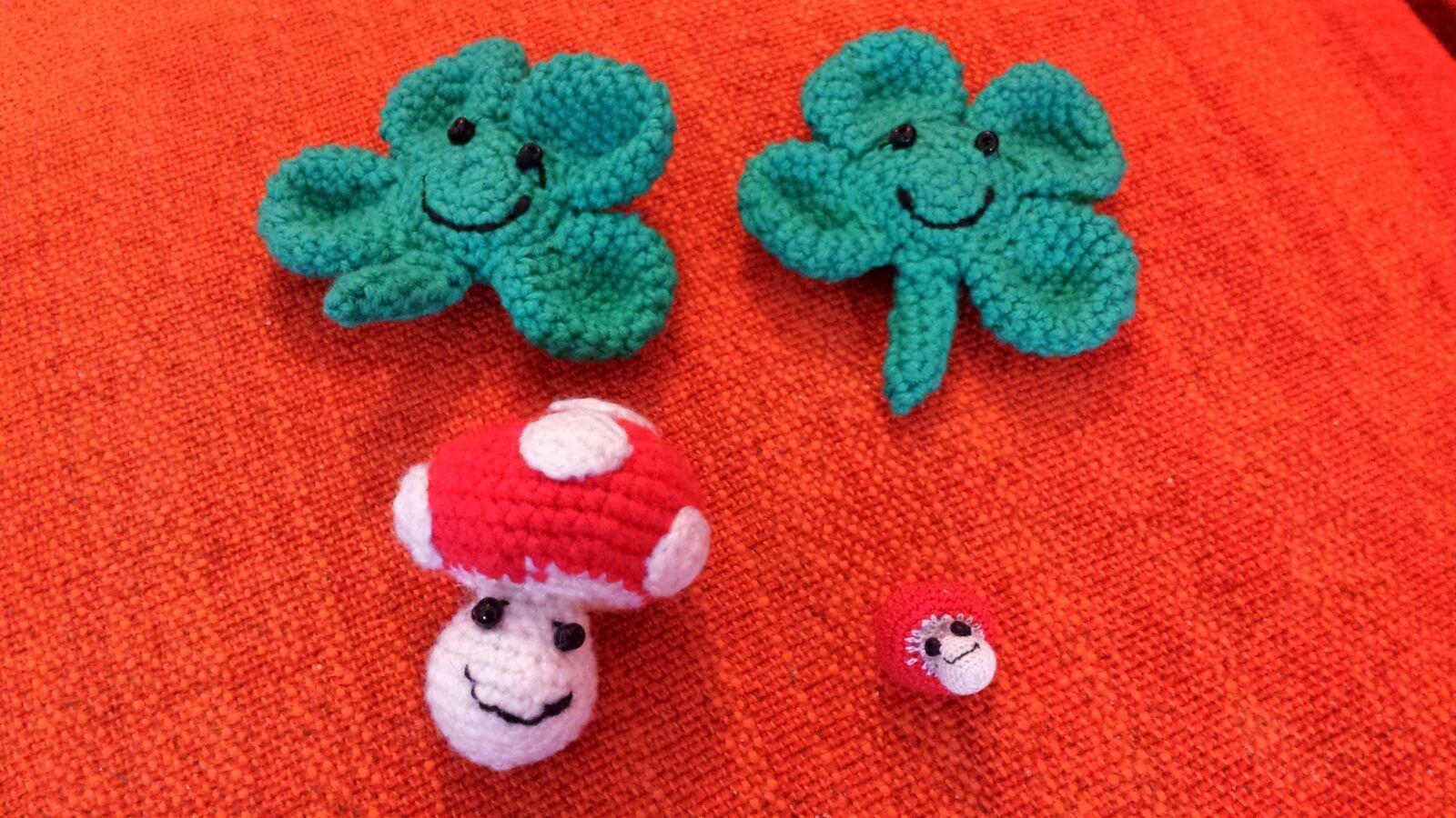 Some New Crochet Projects Crochet Haken Luckycharms