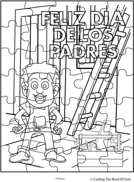 Feliz Dia De Los Padres 1- Rompecabezas | Feliz dia de, Rompecabezas ...
