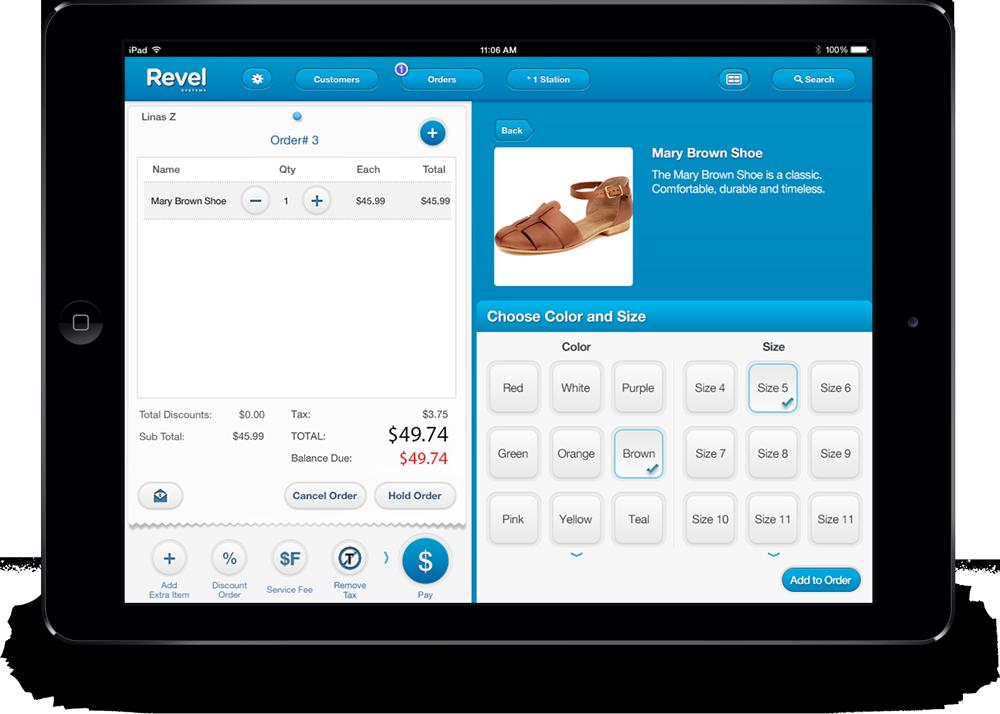 POS System Tour | Revel Systems iPad POS | Quickbooks online, Pos design,  Pos