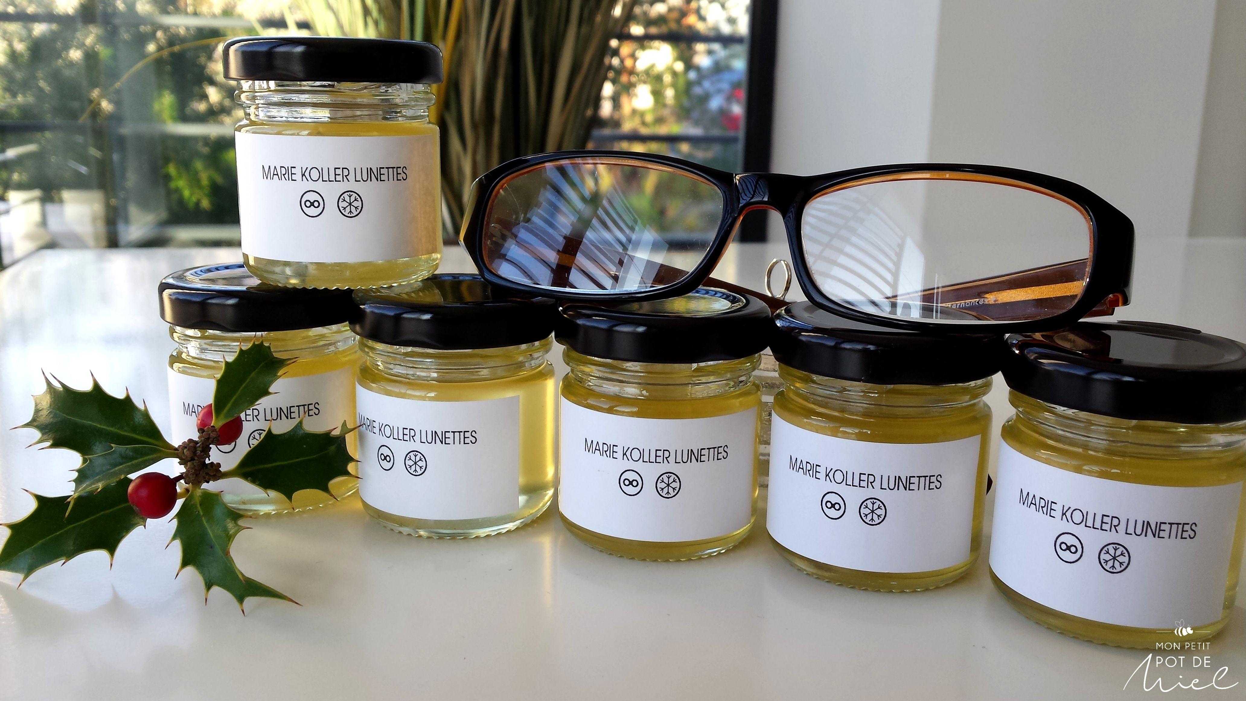 Petits Pots de Miel pour offrir aux clients du magasin d optique