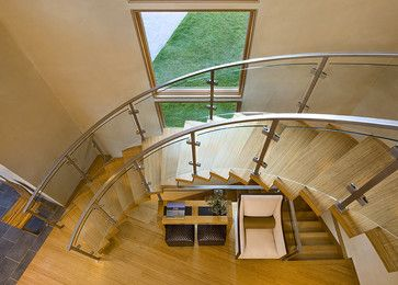 Getty Staircase   Contemporary   Staircase   Denver   David Johnston  Architects