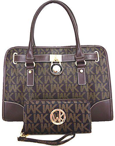Wendy Keen Women S Handbag Messenger Bag Shoulder Satchel Purse Wallet Set Brown