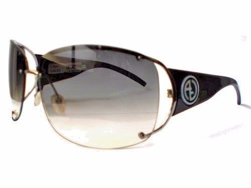 b9554472686c Giorgio Armani Sunglasses Black Womens GA 368 S FEQ Lens Color Grey  Gradient new  GiorgioArmani
