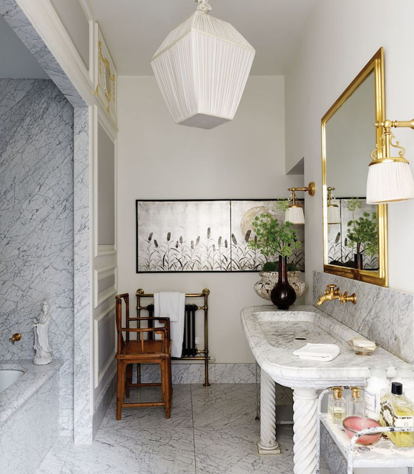 Lavish Bathrooms Fantastic Wall Mirror Ideas To Inspire Lavish Bathroom Designs