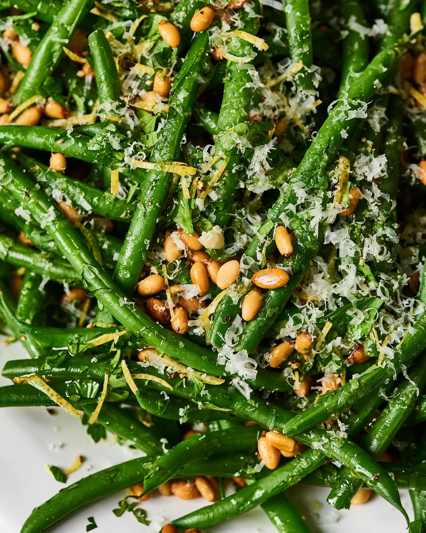 I tried ina gartens green beans gremolata in 2020