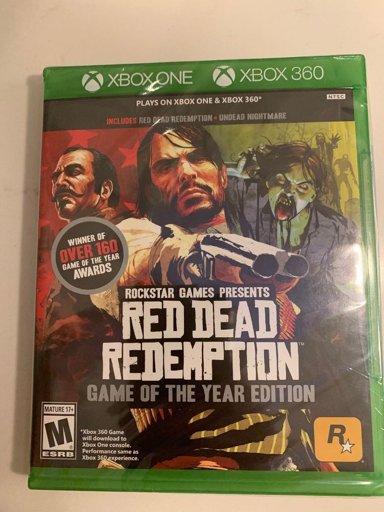 Brand New Red Dead Redemption Game Of The Year Edition Xbox One