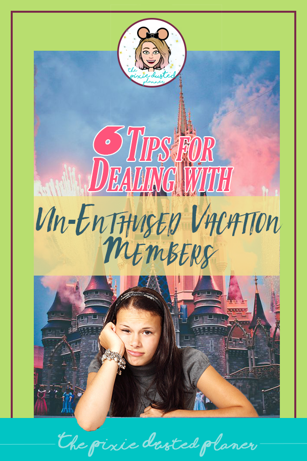 How to Handle Un-Enthused Vacation Party Members |