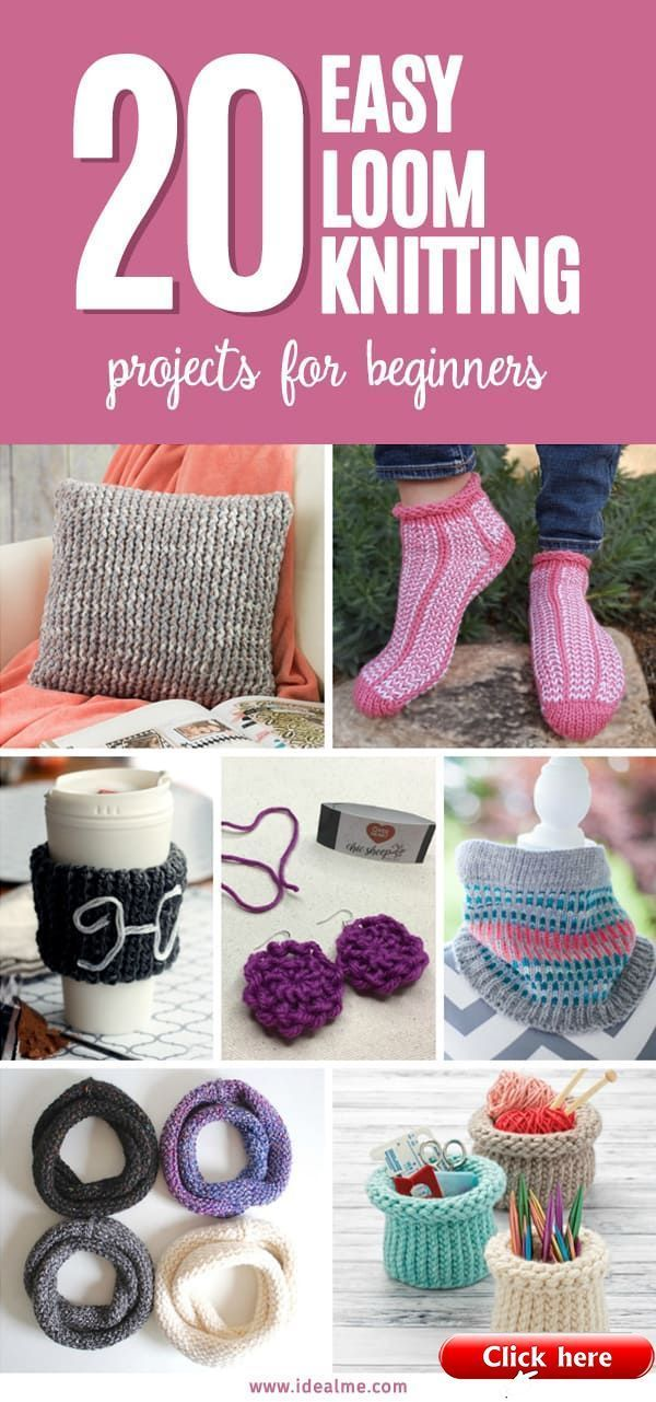 Photo of 20 Loom Knitting that are Easy for Beginners  2019  From pillows to accessories …