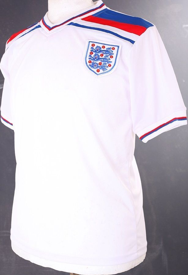 slight second england 1982 world cup retro #Football shirt s