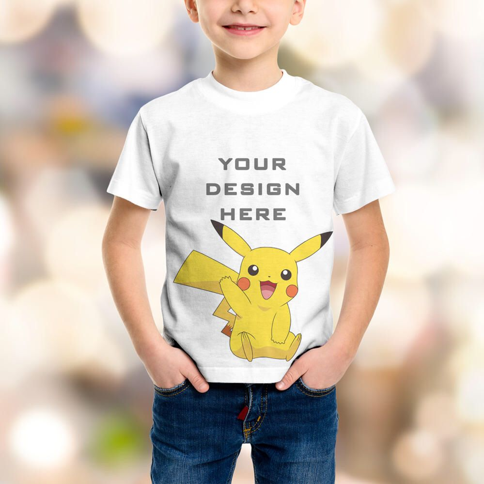 Kid Girl T Shirt Mockup Agbu Hye Geen