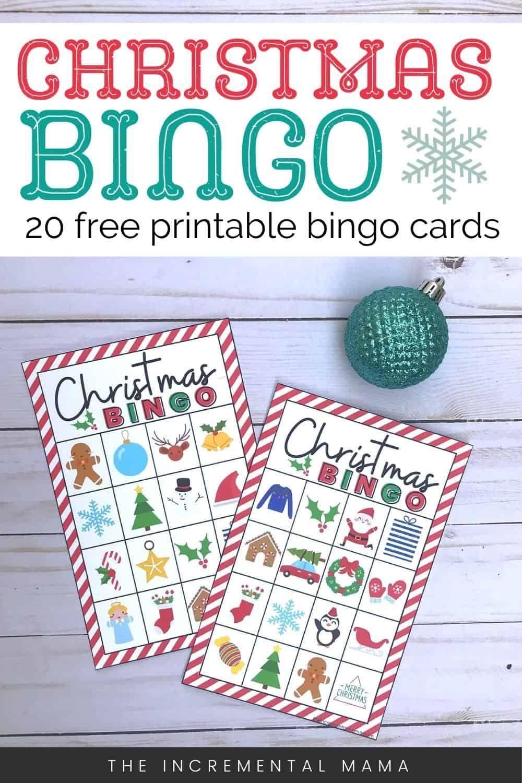 20 Free Printable Christmas Bingo Cards Printable Christmas Bingo Cards Christmas Bingo Cards Free Christmas Printables