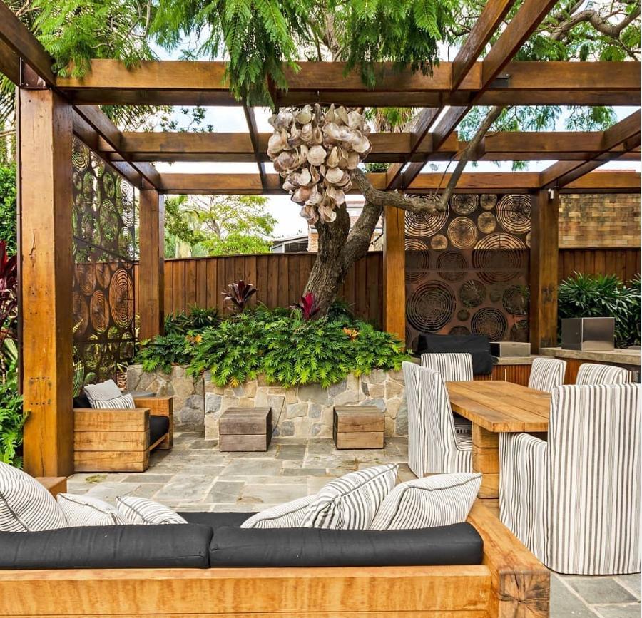 Room Outdoor Backyard Patio Decor Ideas