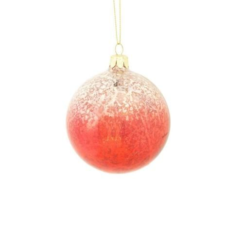 "Clip-on Christmas Ornament 8.5/""  red sequin /& glitter Hummingbird"