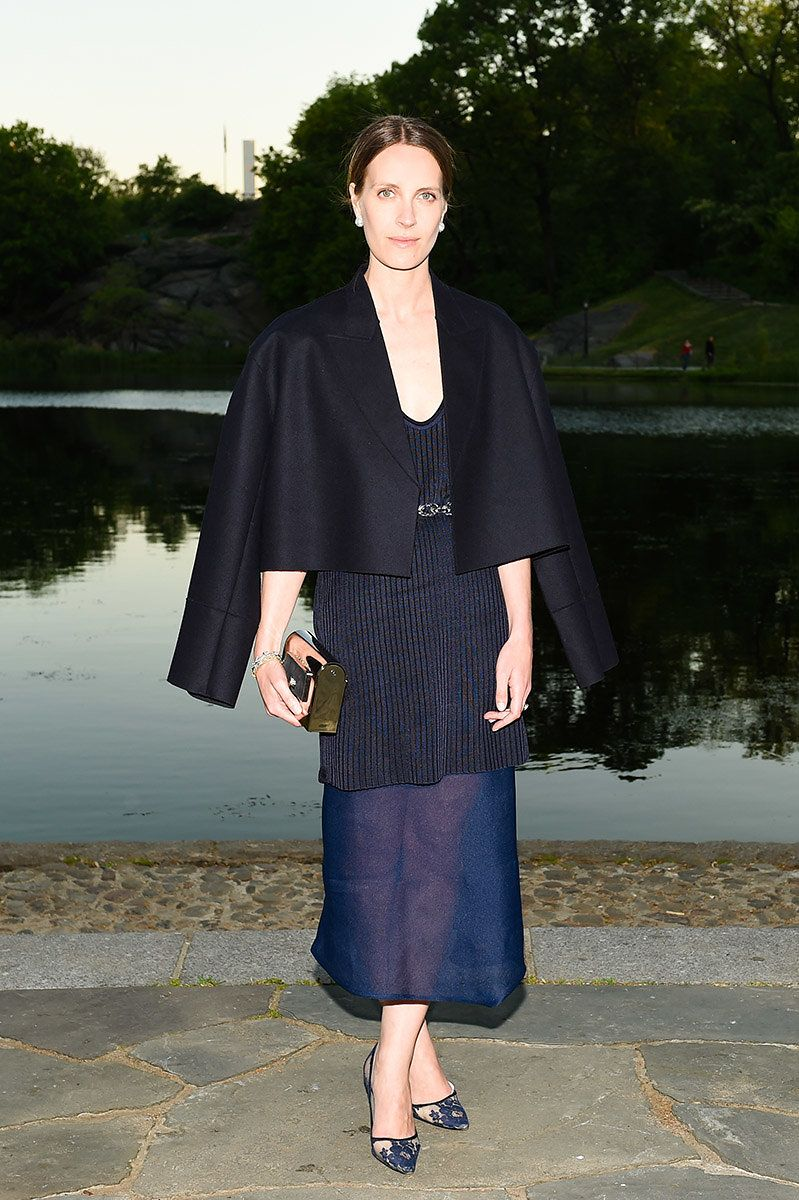 """WHO: Vanessa Traina Snow WHAT: Calvin Klein Collection WHERE: Calvin Klein Collection celebrates the unveiling of Creative Time's """"Drifting in Daylight: Art in Central Park"""" WHEN: May 14"""