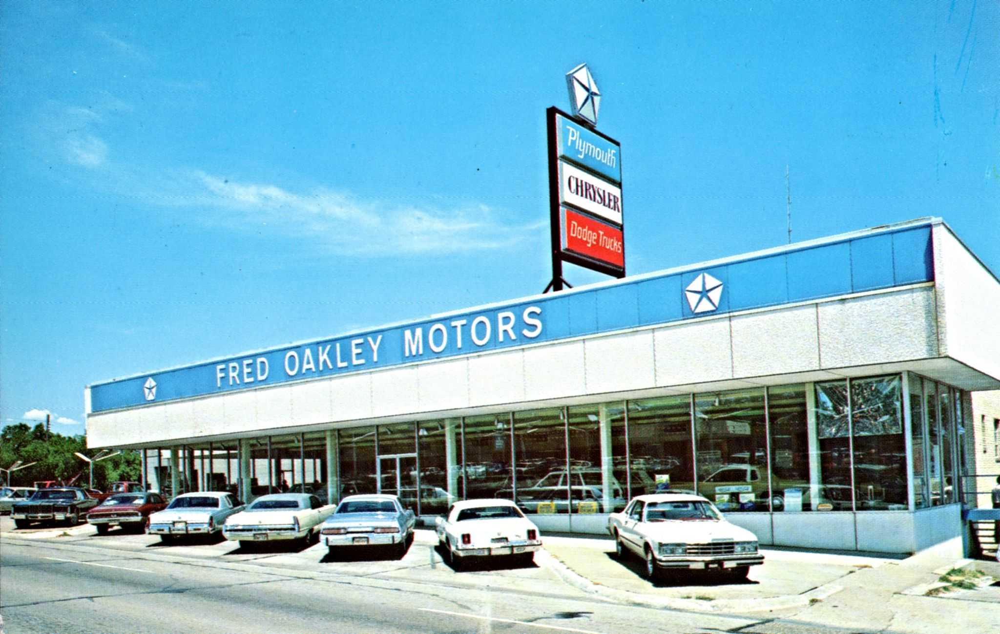 1970 S Fred Oakley Motors Dodge Chrysler Plymouth Dealership