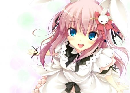 Cute Anime Girl Voi Google Jpg 450x322 Wallpapers Girls Bunny