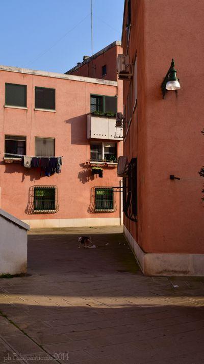 VENICE, ITALY, towards Campo Saffa