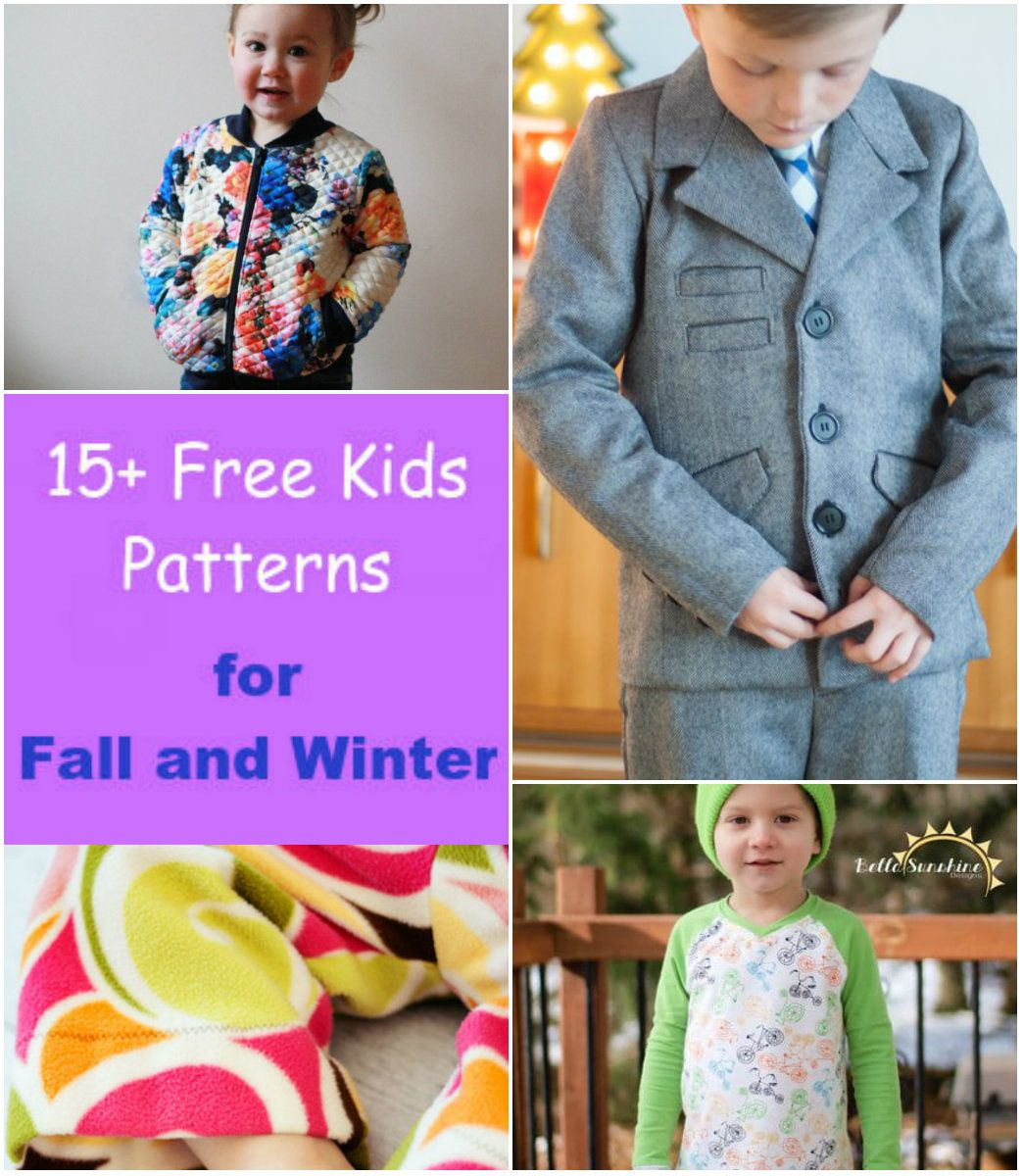 FREE PATTERN ALERT: 15+ Free Kids Patterns for Fall and Winter