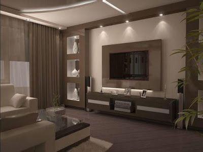Latest Gypsum Board Tv Wall Design For Living Room Niche Design Living Room Tv Wall Tv Wall Design